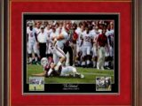 Vinnie Sunseri Interception Alabama Football Prints Framed