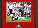 Vinnie Sunseri Alabama Football Prints Framed Coin