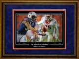 Auburn Miracle Catch Framed Print