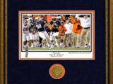 kick six bass framed coin