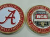 2011 bcs painted coin