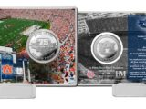 75TH ANNIVERSARY COIN CARD AUBURN