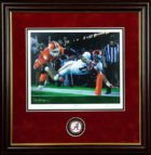 Daniel Moore Finish Framed With Coin