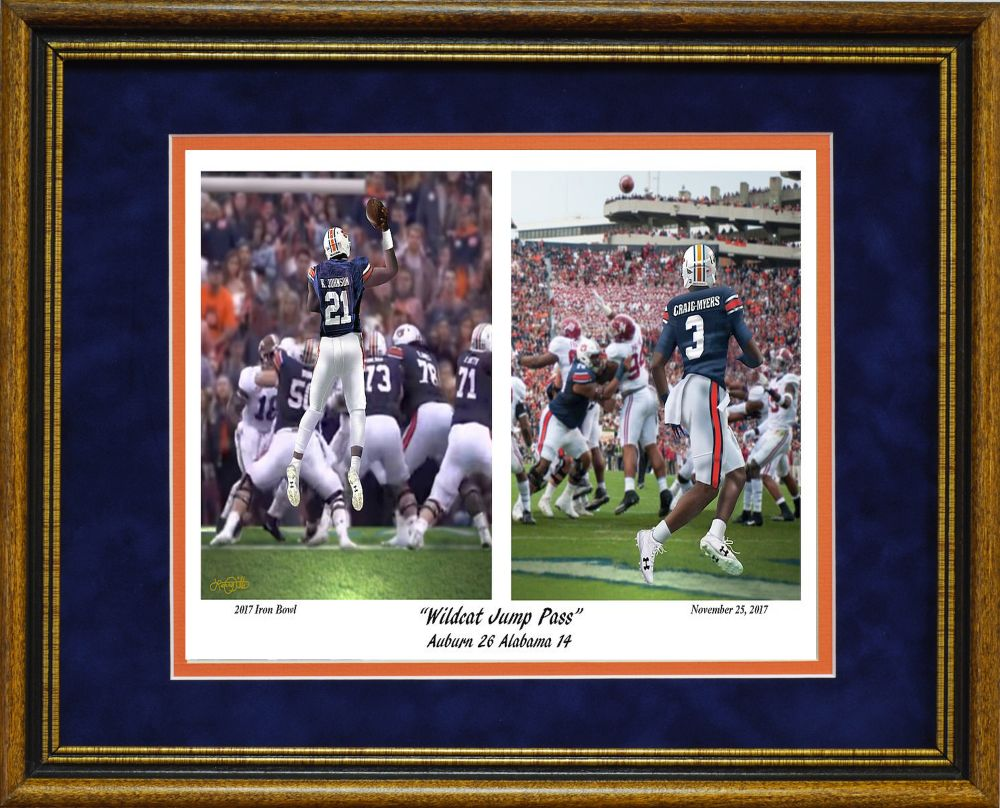 Wildcat Jump Pass framed print by Pitts   The Beveled Edge